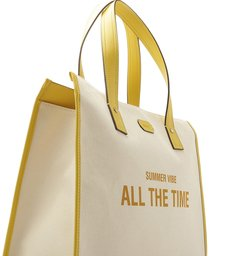 TOTE SUMMER VIBE YELLOW