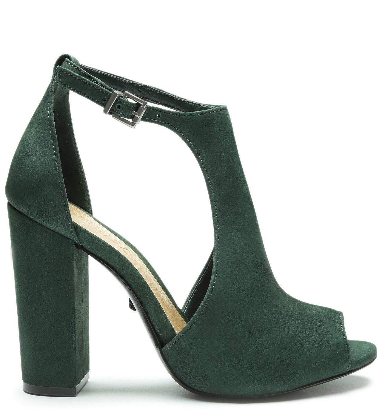 Sandália Block Heel Green | Schutz