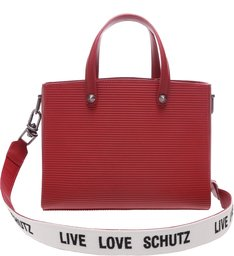 Tote Live Love Texture Red
