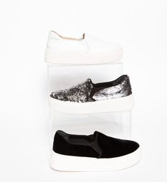 Slip S-HIGH Snake White