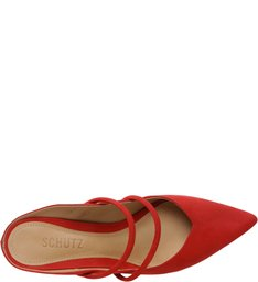 Mule Kitten Heel S-GIRLIE Red