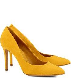 Scarpin Clássico Amarelo