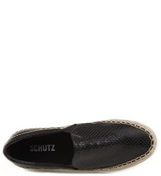 Slip On Correntes Black