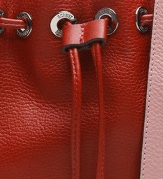 Mini Crossbody Bicolor Red