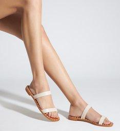 Sandália Minimal Pop Off White