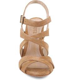 Sandália Salto Bloco Tiras Bamboo