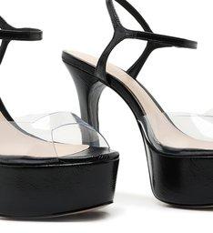 Sandália Taça Vinil Black