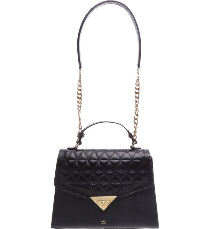 Handbag Crossbody Matelassê Black