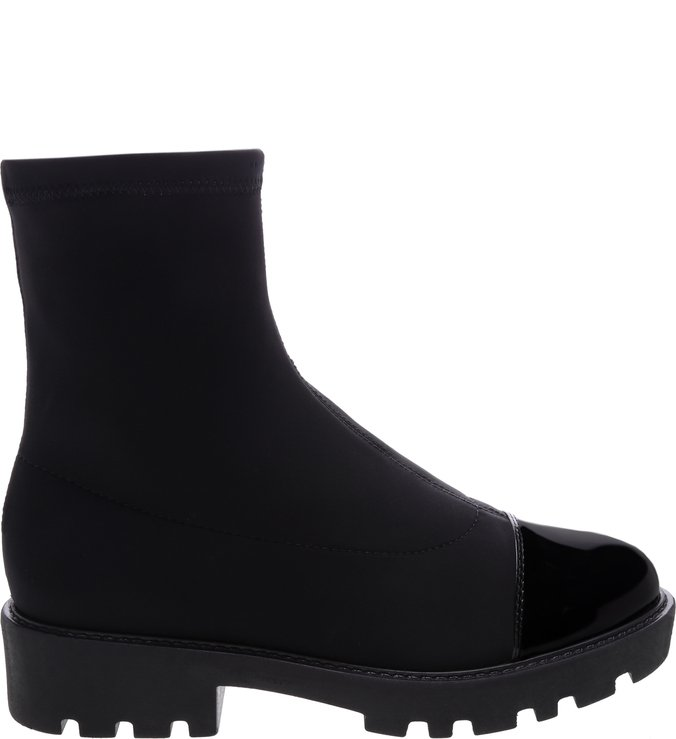 Bota Tratorada Stretch Black