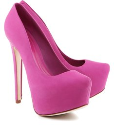 Scarpin Retrô  Diva High Pink