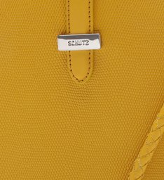 Crossbody Disco Bag Yellow