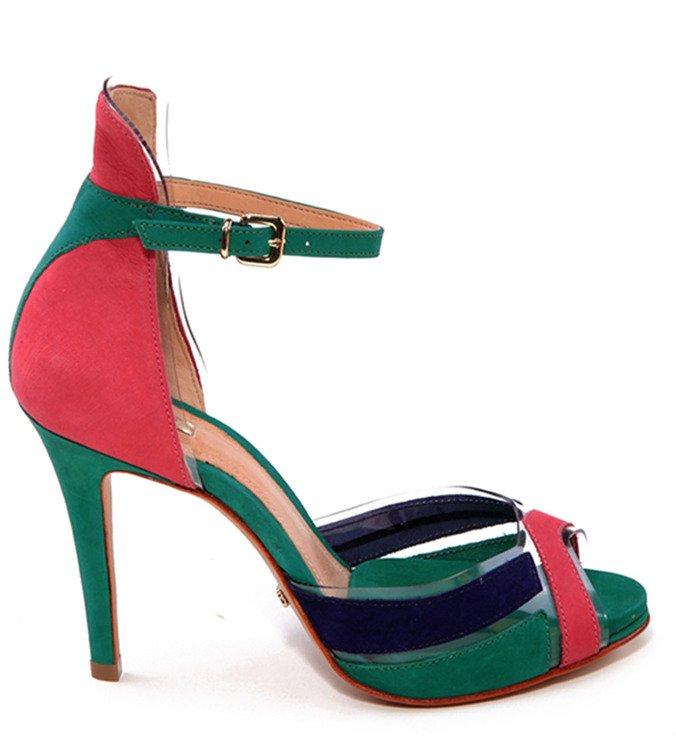 Sandália Tornozeleira Colors