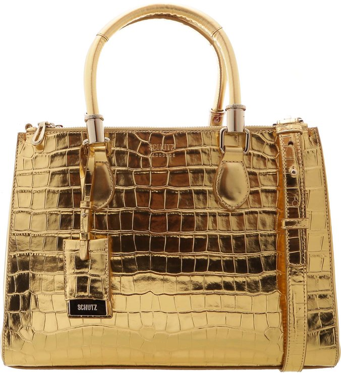 Tote Lorena Golden Croco