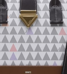 Handbag Crossbody Triangle Pearl