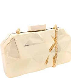 Clutch Mirror Future Gold