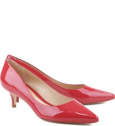 Scarpin Salto Médio Summer Red