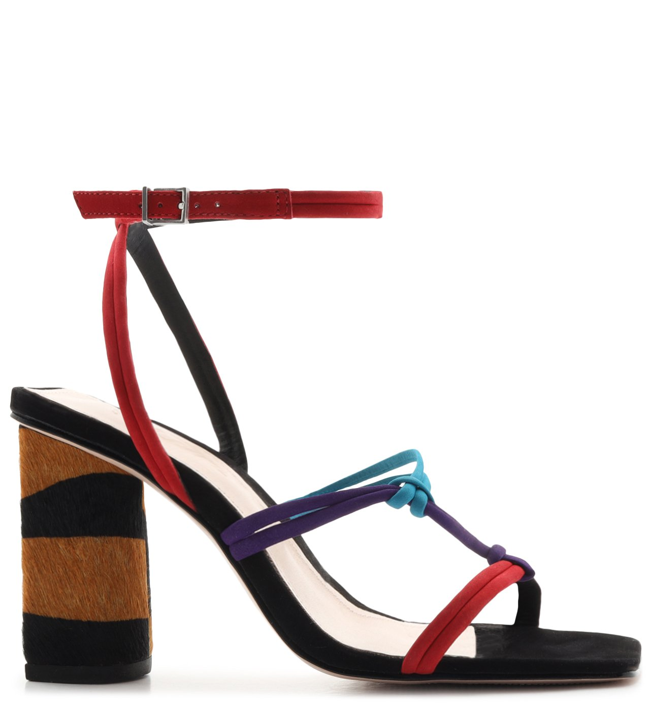 Sandália Strings Zebra Heel Colors | Schutz