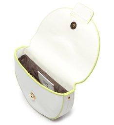 Pochete New Buckle Neone Branco