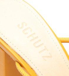 Sandália Mule Geometric Natural Yellow