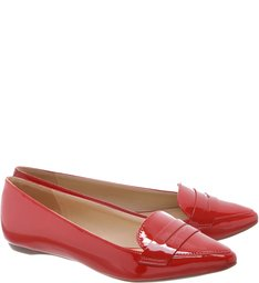 Mocassim Verniz Red