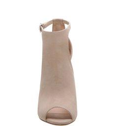 Sandália Block Heel Nude