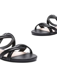 Slide Double Straps Black
