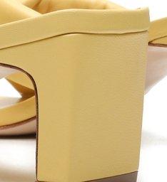 Sandália Mule Mid Fresh Yellow