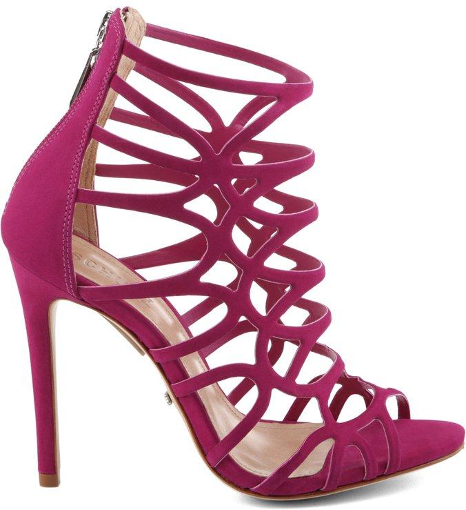 Sandália Caged Disco Fever Pink