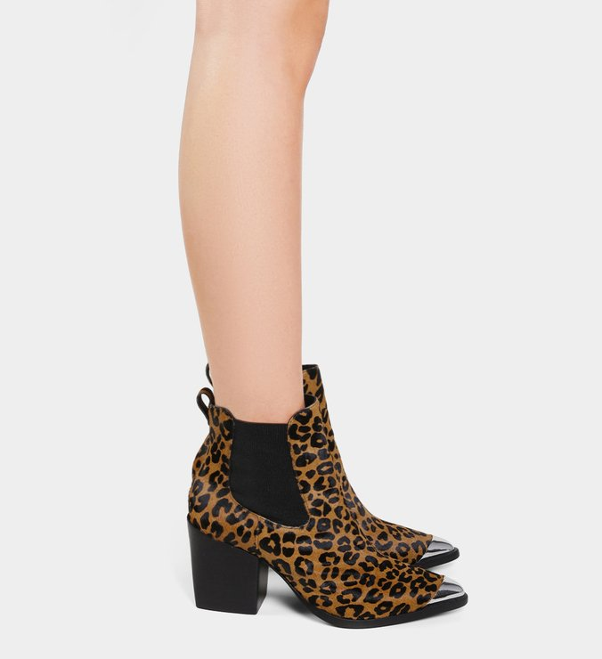 Chelsea Boots Animal Print