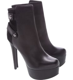 Bota Meia Pata High Black