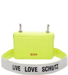 Mini Crossbody Live Love Neon Yellow