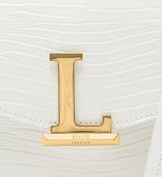 Crossbody Square Letters White