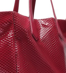 Shopping Bag New Maxxi Bright Snake Red