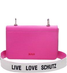Crossbody Live Love Neon Pink