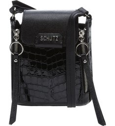 Crossbody Rollis Croco Black