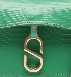 "Crossbody Chain ""A to Z"" Green"