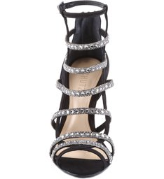 Sandália Mini Shine High Heel Black