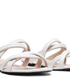 Slide Double Straps White