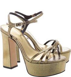 Sandália Meia Pata Glam Gold