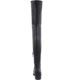 Bota Maxi Over The Knee Leather Black