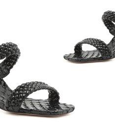 Sandália Mule Braid Black