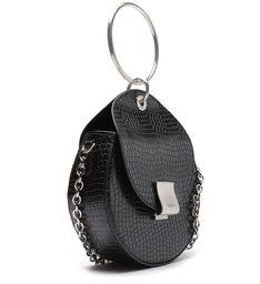 CROSSBODY ANASTASIA SNAKE BLACK