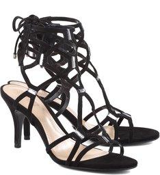 Sandália Fetiche Strips Black