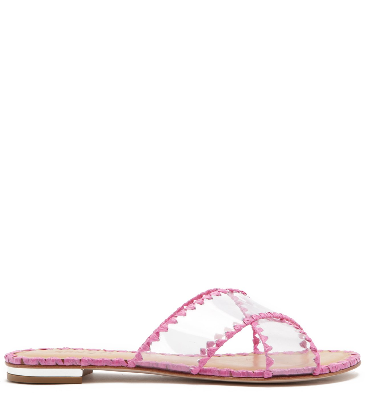 Slide Vinil Crystal Glam Pink | Schutz