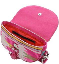 Saddle Bag Print Neon Pink