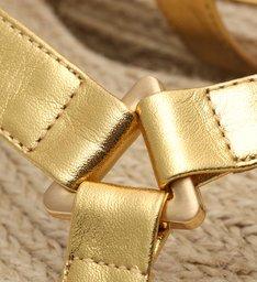 Flatform Natural New Sporty Gold