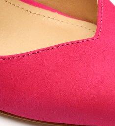 Sapato Scarpin Slingback Salto Arquitetônico Pink
