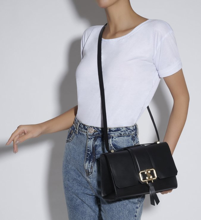 SHOULDER BAG EVA BLACK