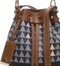 Bucket Bag Triangle Black