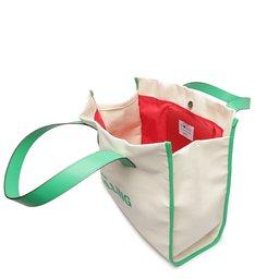 Bolsa Shopping Lona Verde